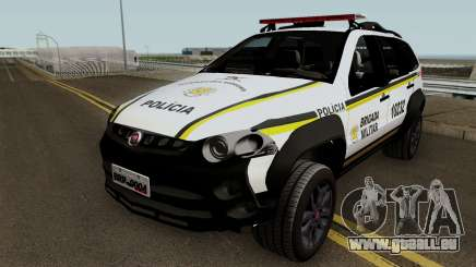 Fiat Palio Weekend Brazilian Police pour GTA San Andreas