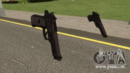 COD-MWR Beretta M9 pour GTA San Andreas