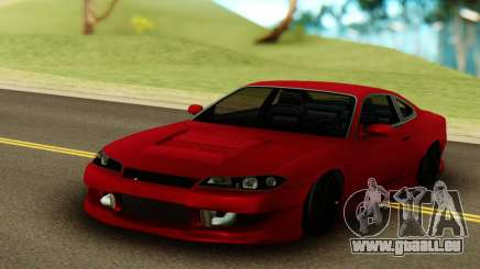 Nissan Silvia S15 Red Stock pour GTA San Andreas