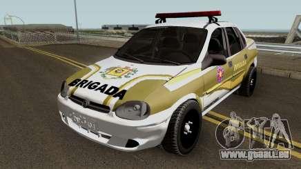 Chevrolet Corsa Brazilian Police pour GTA San Andreas