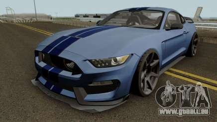 Ford Mustang Shelby GT350R 2016 HQ pour GTA San Andreas