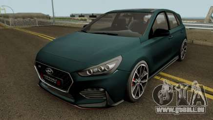 Hyundai I30 2017 für GTA San Andreas