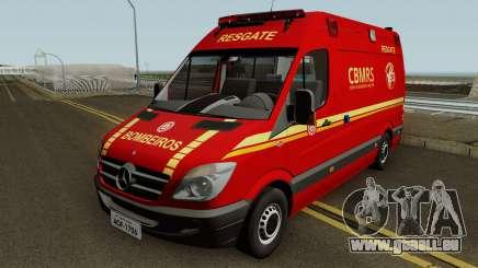 Mercedes-Benz Sprinter Ambulance (CBMRS) pour GTA San Andreas
