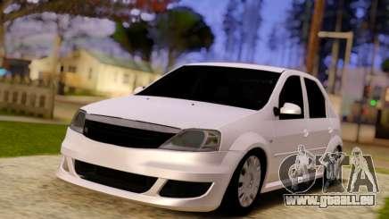 Renault Logan Widebody pour GTA San Andreas