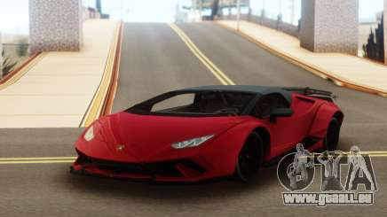 Lamborghini Huracan Supercar pour GTA San Andreas