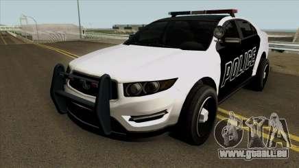 Ford Taurus Police (Interceptor style) 2012 für GTA San Andreas
