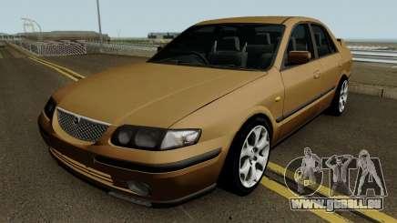 Mazda 626 (RHD) 1997 pour GTA San Andreas