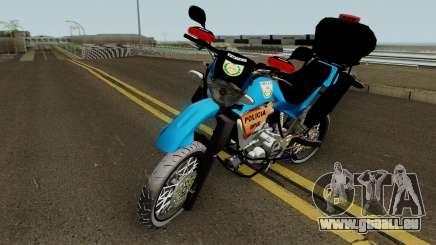 Yamaha XT660 PMERJ BPVE pour GTA San Andreas