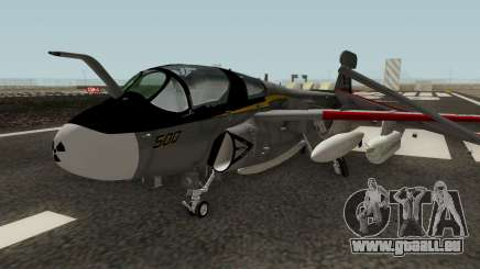 EA-6B Prowler Grey pour GTA San Andreas