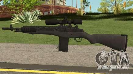 COD-MWR M14 Sniper pour GTA San Andreas