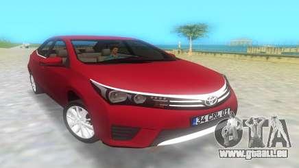 2014 Toyota Corolla für GTA Vice City