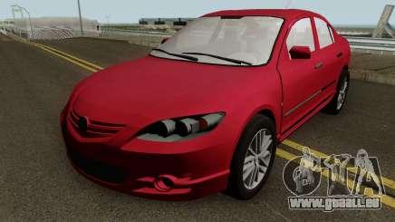 Mazda 3 MQ pour GTA San Andreas