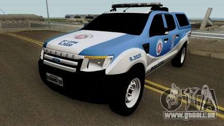 Ford Ranger 2014 - CIPM Serra Dourada für GTA San Andreas