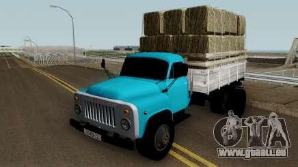 Gaz-52 Truck Azerbajian Straw Bale für GTA San Andreas