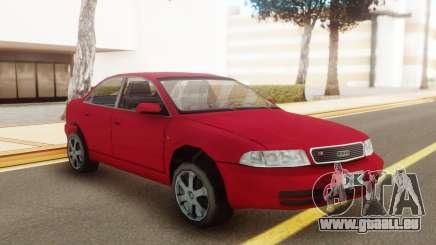 Audi S4 2000 Red für GTA San Andreas