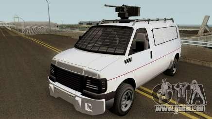 Vapid Speedo Custom And Armored GTA V IVF pour GTA San Andreas