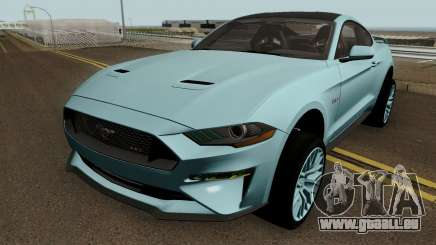 Ford Mustang GT 2018 pour GTA San Andreas