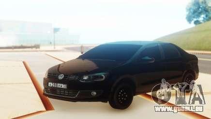 Volkswagen Polo Black pour GTA San Andreas