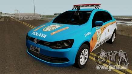 Volkswagen Voyage G6 PMERJ BPVE pour GTA San Andreas