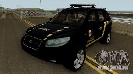 Hyundai Santa Fe Policia Federal pour GTA San Andreas