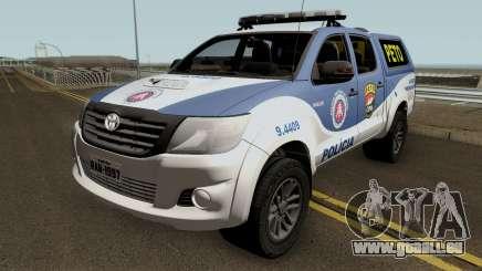 Toyota Hilux 2015 PETO CIPM PMBA pour GTA San Andreas