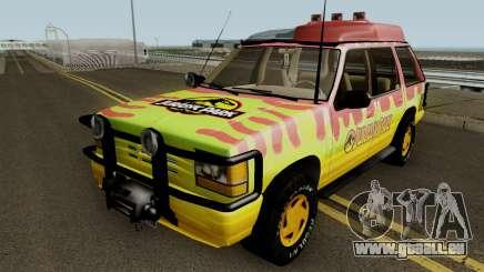 Ford Explorer - Jurassic Park v2 pour GTA San Andreas