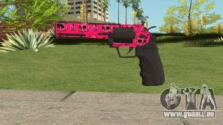 GTA Online Heavy Revolver Mk.2 Pink Skull pour GTA San Andreas