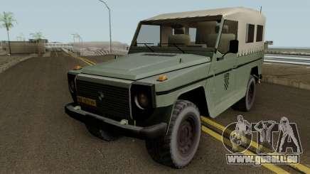 Steyr Puch Croatian Army pour GTA San Andreas