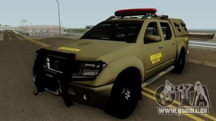 Nissan Frontier Brazilian Police (Verde) pour GTA San Andreas