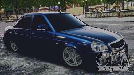 Lada Priora Blue pour GTA 4