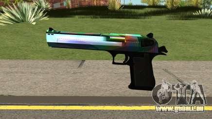 Rainbow Desert Eagle für GTA San Andreas