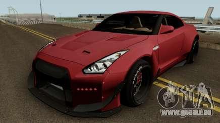 Nissan GT R35 (Rocket Bunny) Edition für GTA San Andreas