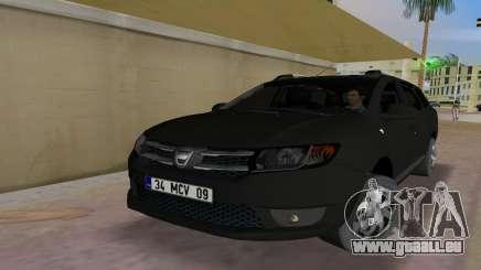 2013 Dacia Logan MCV für GTA Vice City