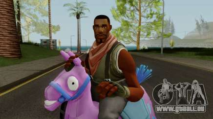 Fortnie GIDDY-UP Skin pour GTA San Andreas