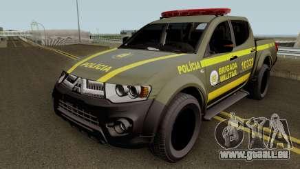Mitsubishi L200 Brazilian Police (CHOQUE) pour GTA San Andreas