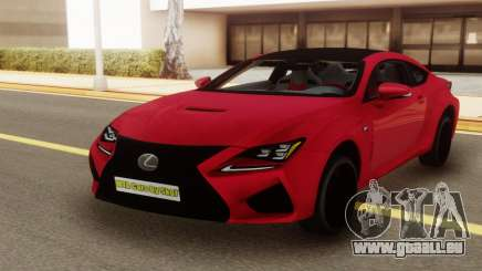 Lexus RC-F Coupe für GTA San Andreas