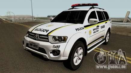 Mitsubishi Pajero Dakar Brazilian Police pour GTA San Andreas