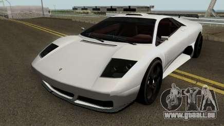 Lamborghini Murcielago LP640 Roadster 2005 pour GTA San Andreas
