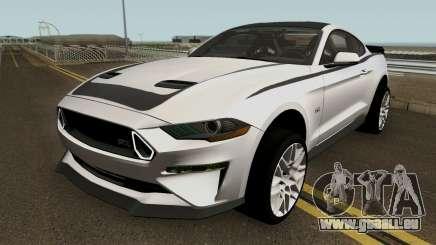 Ford Mustang RTR Spec 3 2018 für GTA San Andreas