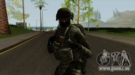 Expeditionary Soldier pour GTA San Andreas