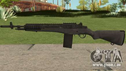 COD-MWR M14 Stock pour GTA San Andreas