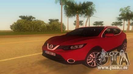 2016 Nissan Qashqai pour GTA Vice City