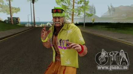 Hulk Hogan (Beach Basher) from WWE Immortals pour GTA San Andreas