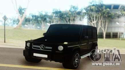 Mercedes-Benz AMG G63 vs G55 pour GTA San Andreas