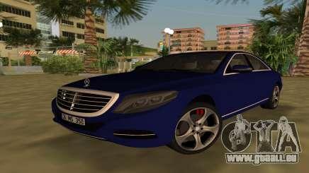 2015 Mercedes-Benz S350 Bluetec für GTA Vice City