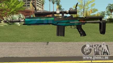Rainbow Sniper Rifle für GTA San Andreas