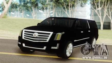 Cadillac Escalade Black für GTA San Andreas