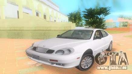 Daewoo Leganza CDX NOUS 2001 pour GTA Vice City