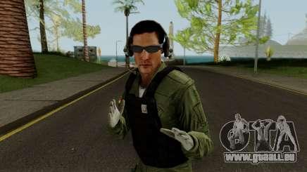 Skin BAV - Tripulante pour GTA San Andreas