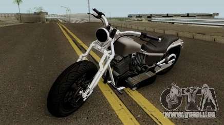 Western Motorcycle Wolfsbane GTA V pour GTA San Andreas